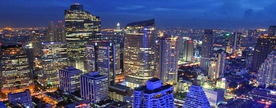 7 khu vực tập chung nhiều khách sạn ở Bangkok