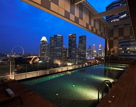 Những khách sạn ở trung tâm thành phố Singapore